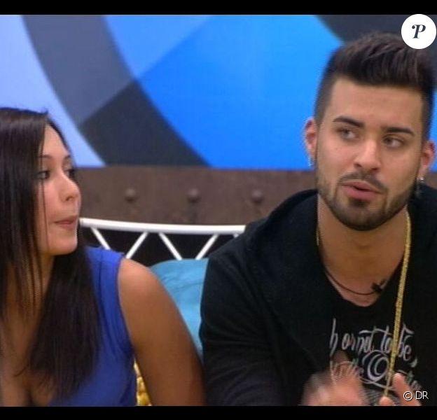 Emilie et Vincent annoncent qu'ils se sont embrassés dans Secret Story 7