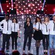 Exclusif - Shy'm, Corneille, Amel Bent, Tal, Estelle Denis, Lorie, M. Pokora à Paris, le 17 décembre 2012 pour l'émission, Samedi, on chante Jean-Jacques Goldman, diffusée le 19 janvier 2013.