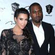 Kim Kardashian et Kanye West à Las Vegas, le 31 décembre 2013.