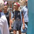 Exclusif - Willow Smith se promène à Hollywood, le 7 juillet 2013.