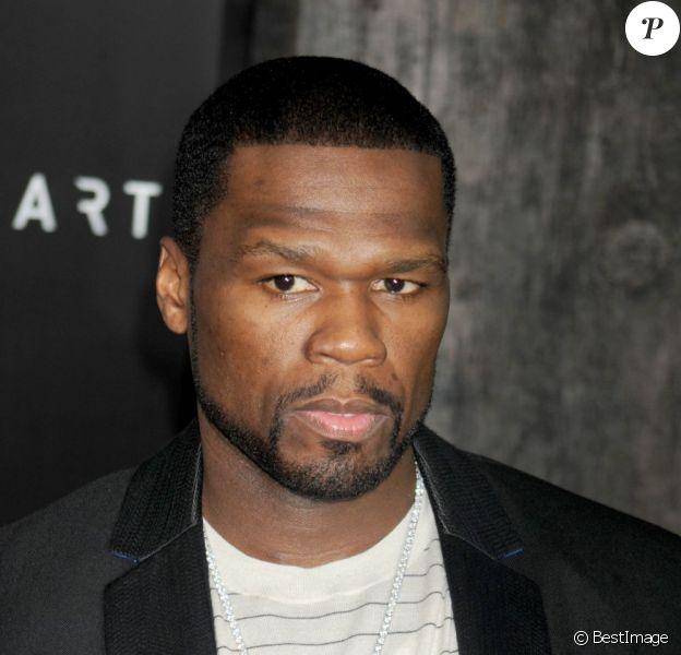 """Curtis Jackson III alias 50 Cent à la première du film """"After Earth"""" à New York, le 29 mai 2013."""