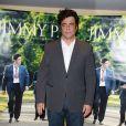Mathieu Amalric, Benicio Del Toro lors de la présentation du film Jimmy P. à Paris le 8 juillet 2013