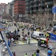 Les attentats du marathon de Boston, le 15 avril 2013.