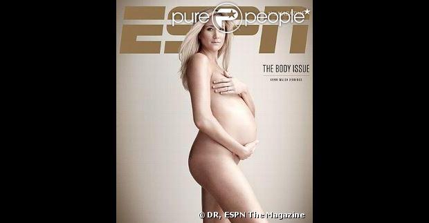 Kerri Walsh Jennings pose nue pour la couverture du magazine d'ESPN, The Body Issue 2013