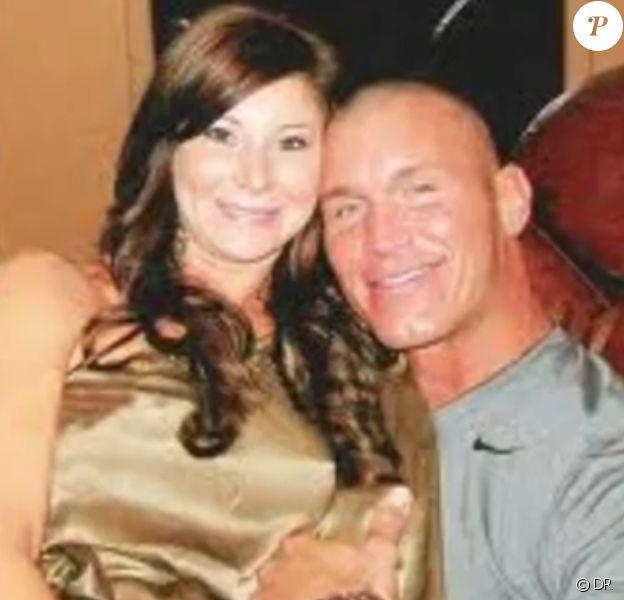 La star du catch Randy Orton et son ex-femme Samantha Speno