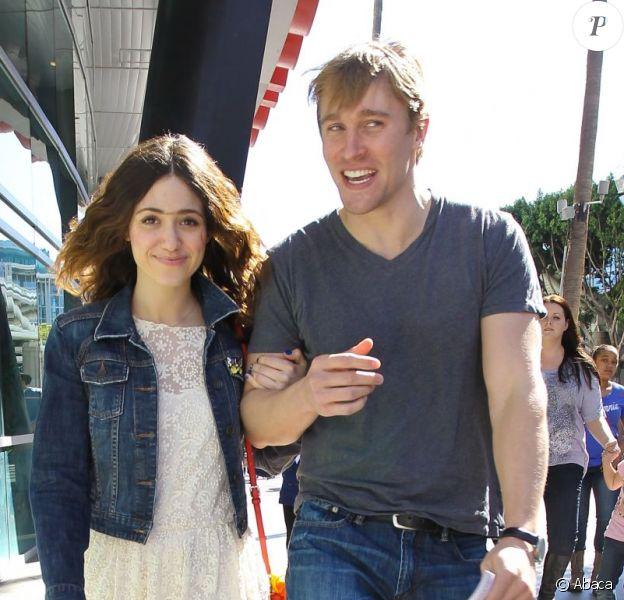 Emmy Rossum et Tyler Jacob Moore à Los Angeles le 11 mars 2013.