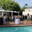 Le consul français Axel Cruau organise la célébration du 14 juillet dans sa résidence à Los Angeles le 14 juillet 2013