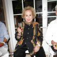 L'actrice Doris Roberts lors de la célébration du 14 juillet dans la résidence du consul de France à Los Angeles le 14 juillet 2013