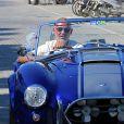 Exclusif - Christian Audigier en vacances avec sa sublime fiancée Nathalie Sorensen et ses trois enfants Rocco Mick Jagger, Dylan, et Vito à Ibiza le 7 juillet 2013.