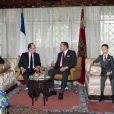 Le jeune prince héritier Moulay El Hassan, fils du roi Mohamed VI du Maroc, avait pris part en avril 2013 à la réception de François Hollande et Valérie Trierweiler.
