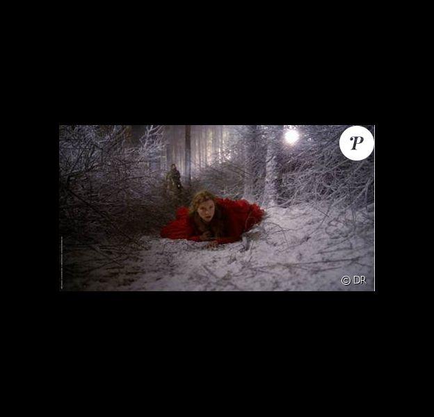 Léa Seydoux dans un des rares plans en extérieur de La Belle et la Bête