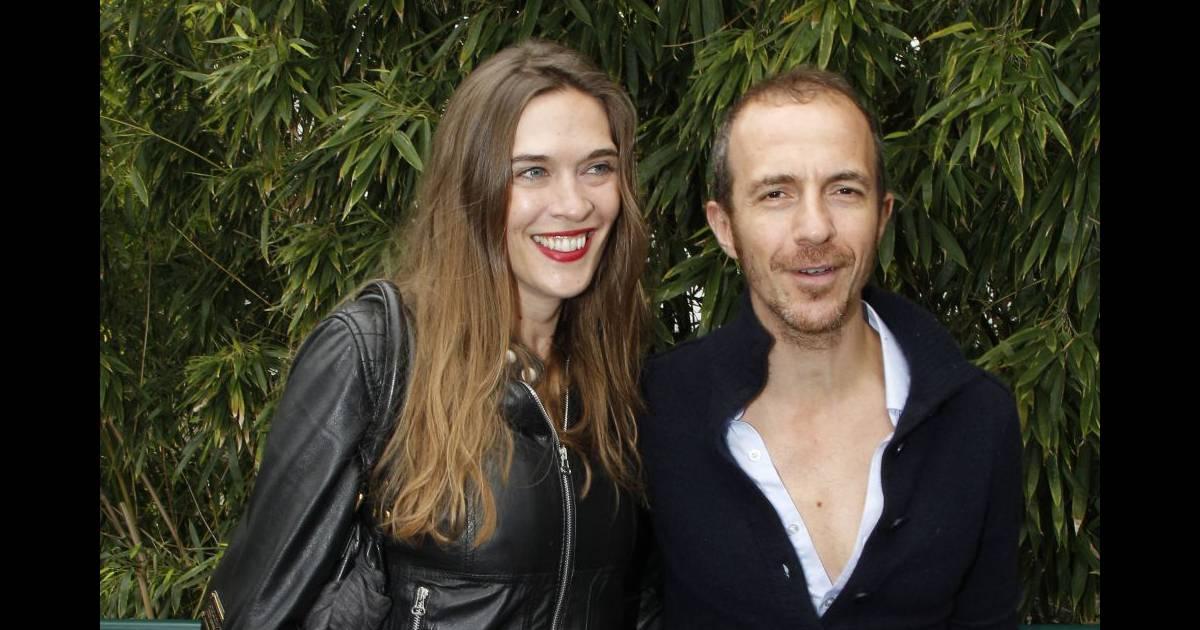 Calogero et sa compagne marie bastide people au 15 eme jour des internationaux de france de - Stephane marie et sa compagne ...