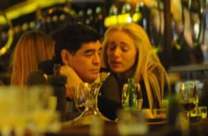 Diego Maradona : Dîner romantique avec sa très jeune compagne Rocio Oliva
