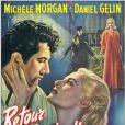 Affiche du film Retour de manivelle, avec Michèle Morgan.