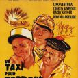 Affiche du film Un taxi pour Tobrouk, avec Lino Ventura.