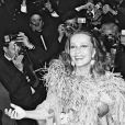 Jeanne Moreau à Cannes en 1976.