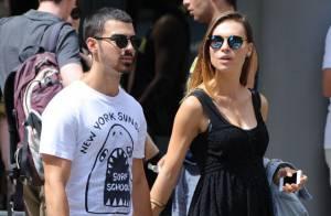 Joe Jonas : En amoureux avec sa belle Blanda après son concert à New York