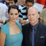 Bruce Willis serein avec son amoureuse divine Emma et la grande Helen Mirren
