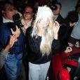 Amanda Bynes sort du tribunal de Manhattan après avoir été arrêtée pour détention de marijuana, le 24 mai 2013.