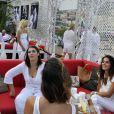 """Exclusif - Soirée blanche organisée par le fils d'Eddie Barclay, Guillaume Barclay, en collaboration avec l'etablissement de nuit """"Le Before"""" à Monaco le 24 juillet 2013."""