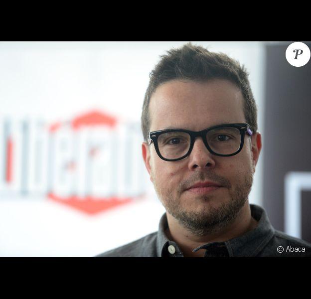 Nicolas Demorand à Cannes le 18 mai 2013.