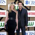 """Toni Collette et Dylan McDermott lors de la soirée """"Summer TCA 2013"""" à Beverly Hills, le 29 juillet 2013."""
