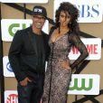 """Shemar Moore et Tyra Banks lors de la soirée """"Summer TCA 2013"""" à Beverly Hills, le 29 juillet 2013."""