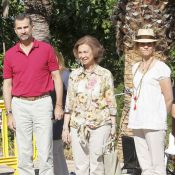 Sofia, Felipe, Elena d'Espagne : Sans peur, au contact des incendies à Majorque
