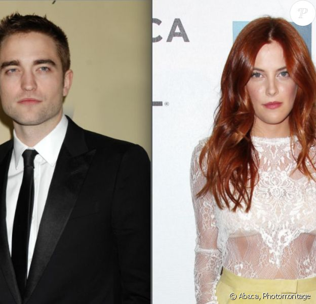 Robert Pattinson et Riley Keough (photomontage)