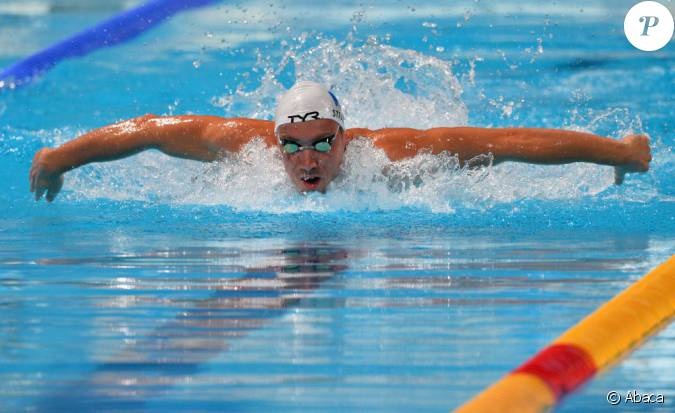 j r my stravius sur le 200 m tres 4 nages lors des championnats du monde de barcelone le 31. Black Bedroom Furniture Sets. Home Design Ideas