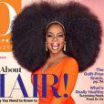 Oprah Winfrey prend la pose en couverture de O, The Oprah Magazine, septembre 2013.