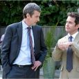 Peter Capaldi avec Tom Hollander dans In The Loop.