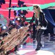 Demi Lovato a chanté son titre Made in the USA sur la scène de la cérémonie des Teen Choice Awards, à Los Angeles, le 11 août 2013.