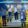 Le groupe One Direction à la cérémonie des Teen Choice Awards, à Los Angeles, le 11 août 2013.