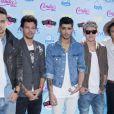 Le groupe One Direction prend la pose à la cérémonie des Teen Choice Awards, à Los Angeles, le 11 août 2013.
