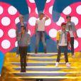 One Direction sur la scène des Teen Choice Awards à Los Angeles, le 11 août 2013.