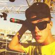 Christopher Bieber en concert à Bandol, le 13 août 2013.