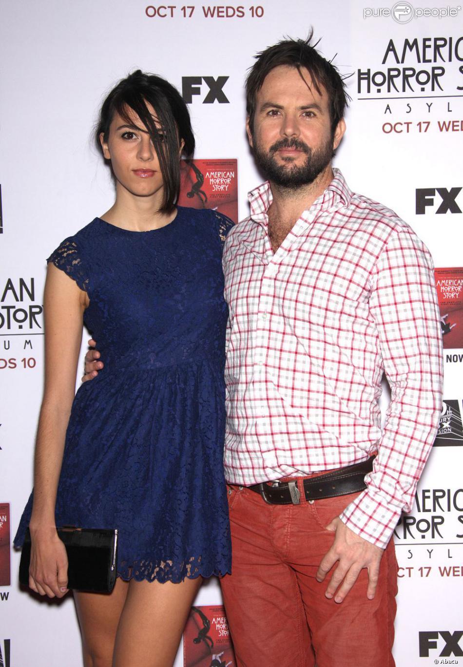 Jason Gann et son épouse Alejandra Varela à Los Angeles le 13 octobre 2013.