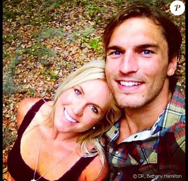 Bethany Hamilton et son époux Adam Dirks