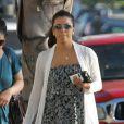 Exclusif - Eva Longoria, sans maquillage, se rend à l'église où elle a rencontré Amaury Nolasco à North Hollywood, le 17 août 2013.