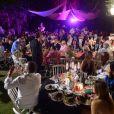 Anniversaire de Massimo Gargia aux Moulins de Ramatuelle le 21 août 2013 - Exclusif