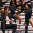 Robin Thicke dans le clip de son dernier titre, Give It 2 U, dévoilé le 25 août 2013.