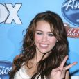 Miley Cyrus à Los Angeles, le 6 avril 2008.