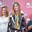Virginie Ledoyen lors du photocall du jury au Palazzo del Casino à Venise, le 28 août 2013.