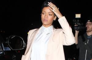 Rihanna : Ravissante avec sa nouvelle queue de rat pour un dîner en solo
