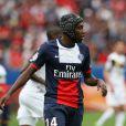 Blaise Matuidi lors de la rencontre de Ligue 1 entre le PSG et Guingamp (2-0), au Parc des Princes, le 31 août 2013.