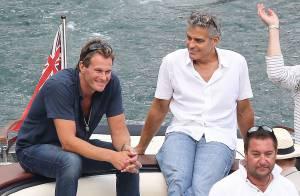 George Clooney s'éclate avec son ami Rande Gerber, le mari de Cindy Crawford !
