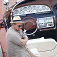 Exclusif - Exclusif - Bono invite George Clooney et Rande Gerber sur la côte d'Azur, à la villa d'Eze, le 19 août 2013.