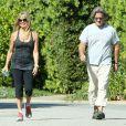 Goldie Hawn et Kurt Russell à Brentwood, le 30 août 2013.