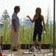 Goldie Hawn et Kurt Russell cherchent une nouvelle maison à Brentwood, le 30 août 2013.